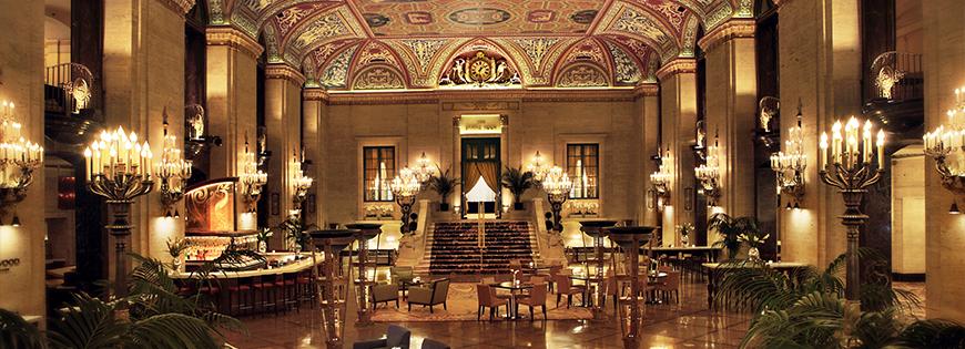palmer-hilton-chicago-hotel lobby