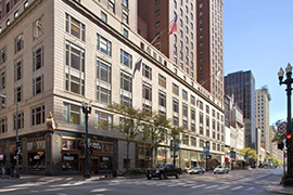 palmer-hilton-chicago-hotel street view