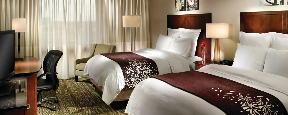 Marriott Chicago O'Hare – drouble guestroom