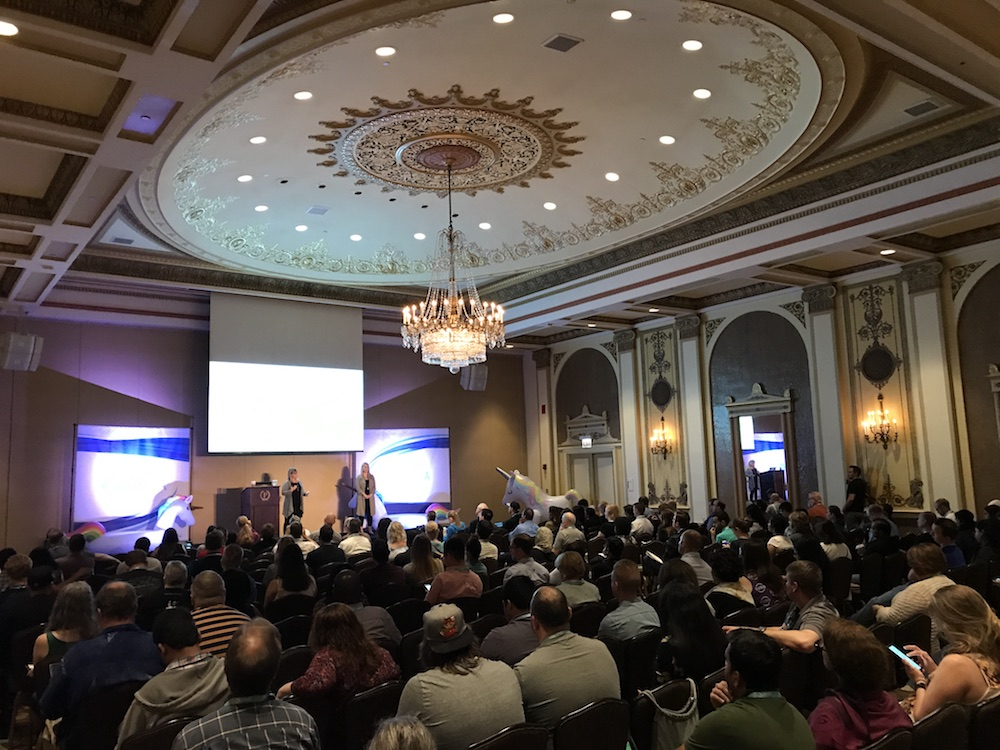 General Sessions in the historic Palmer House Hilton Chicago at Agile Testing Days USA 2019