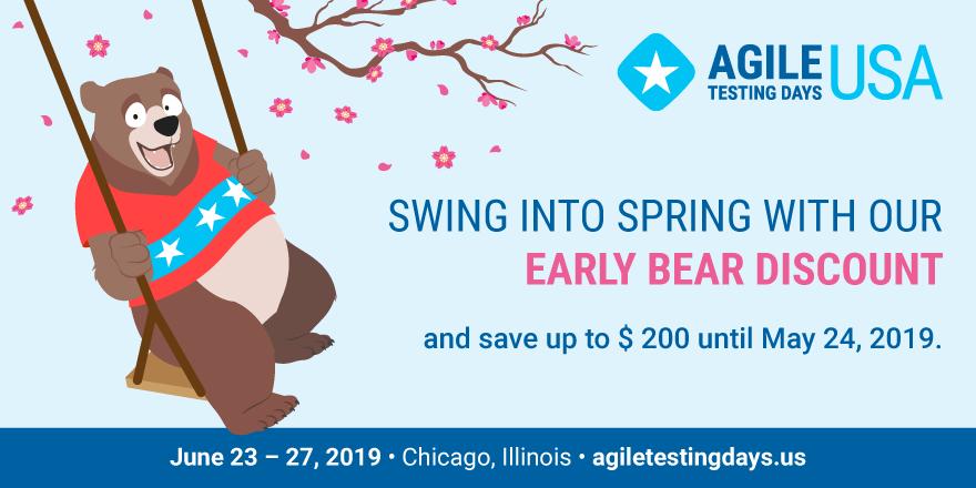 Agile Testing Days USA | June 21–25, 2020 | Chicago, IL