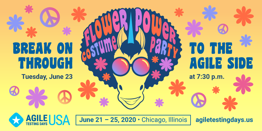 Flower Power Costume Party